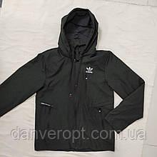 Куртка-вітрівка чоловіча спортивна ADiDAS replik стильна розмір 48-56 купити оптом зі складу 7 км Одеса