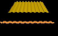 Профнастил для забора ПС-10 окрашенный, фото 1