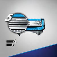 Змінні касети для гоління поштучно Fusion Proshield Chill (Сині) (Original) - Gillette, фото 1