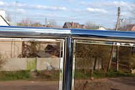 Стеклянные перила из стекла Бронза