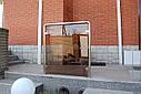 Стеклянные перила из стекла Бронза, фото 2