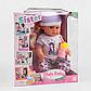 """Лялька """"Сестричка Бебі Бьорн"""" 6 функцій, з аксесуарами, багатофункціональна лялька для дівчинки BLS 007, фото 2"""