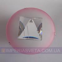 Светильник точечный встраиваемый для подвесного потолка FERON с кристаллом LUX-316245