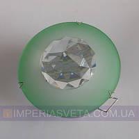 Светильник точечный встраиваемый для подвесного потолка FERON с кристаллом LUX-316311