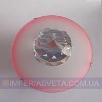 Светильник точечный встраиваемый для подвесного потолка FERON с кристаллом LUX-316312