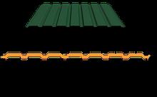 Профнастил для забора ПС-15 окрашенный