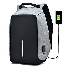 Рюкзак Bobby Боббі з захистом від кишенькових злодіїв протикрадій USB роз'єм