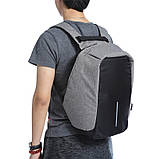 Рюкзак Bobby Бобби с защитой от карманников антивор USB разъем, фото 7