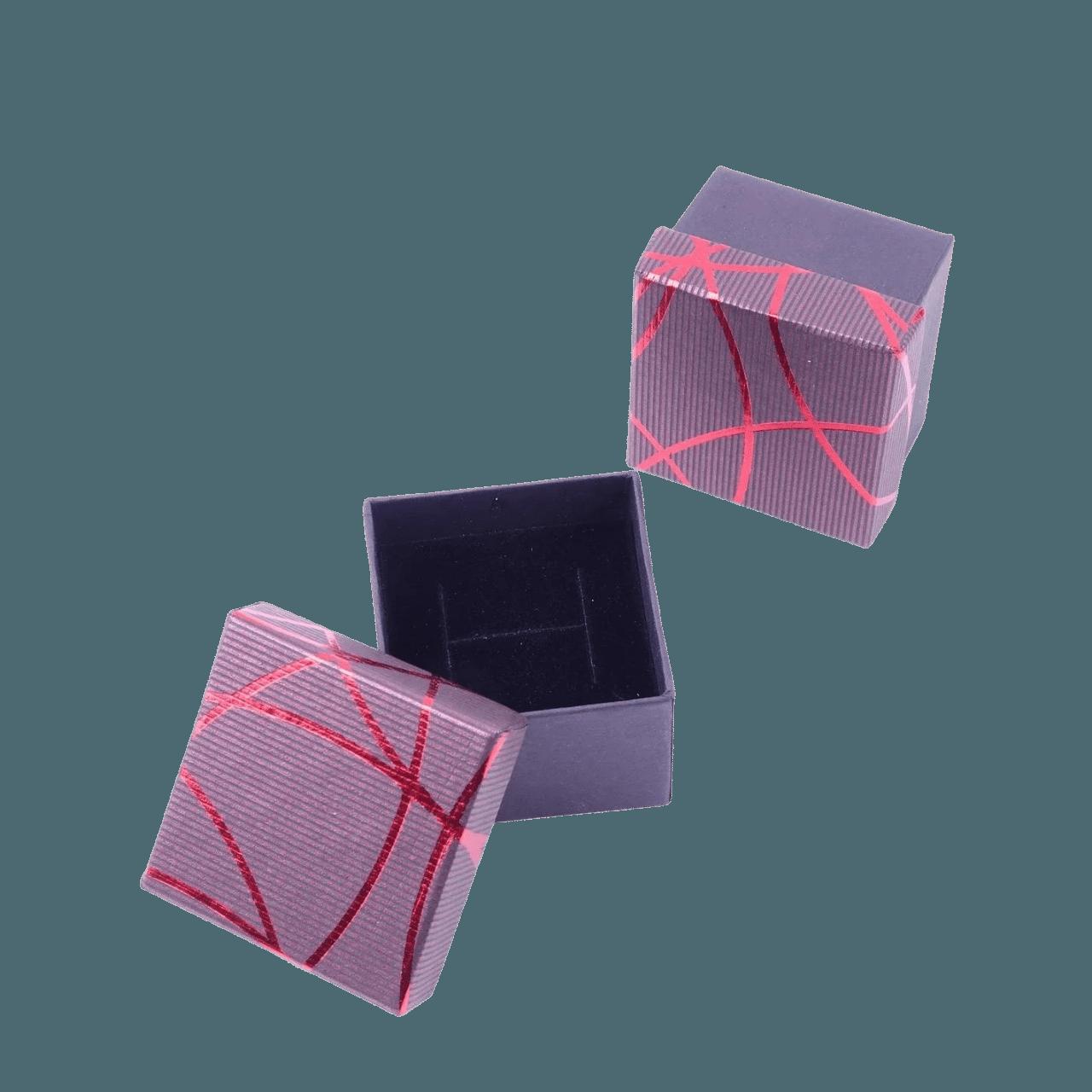 Коробочки для колец Бордовый
