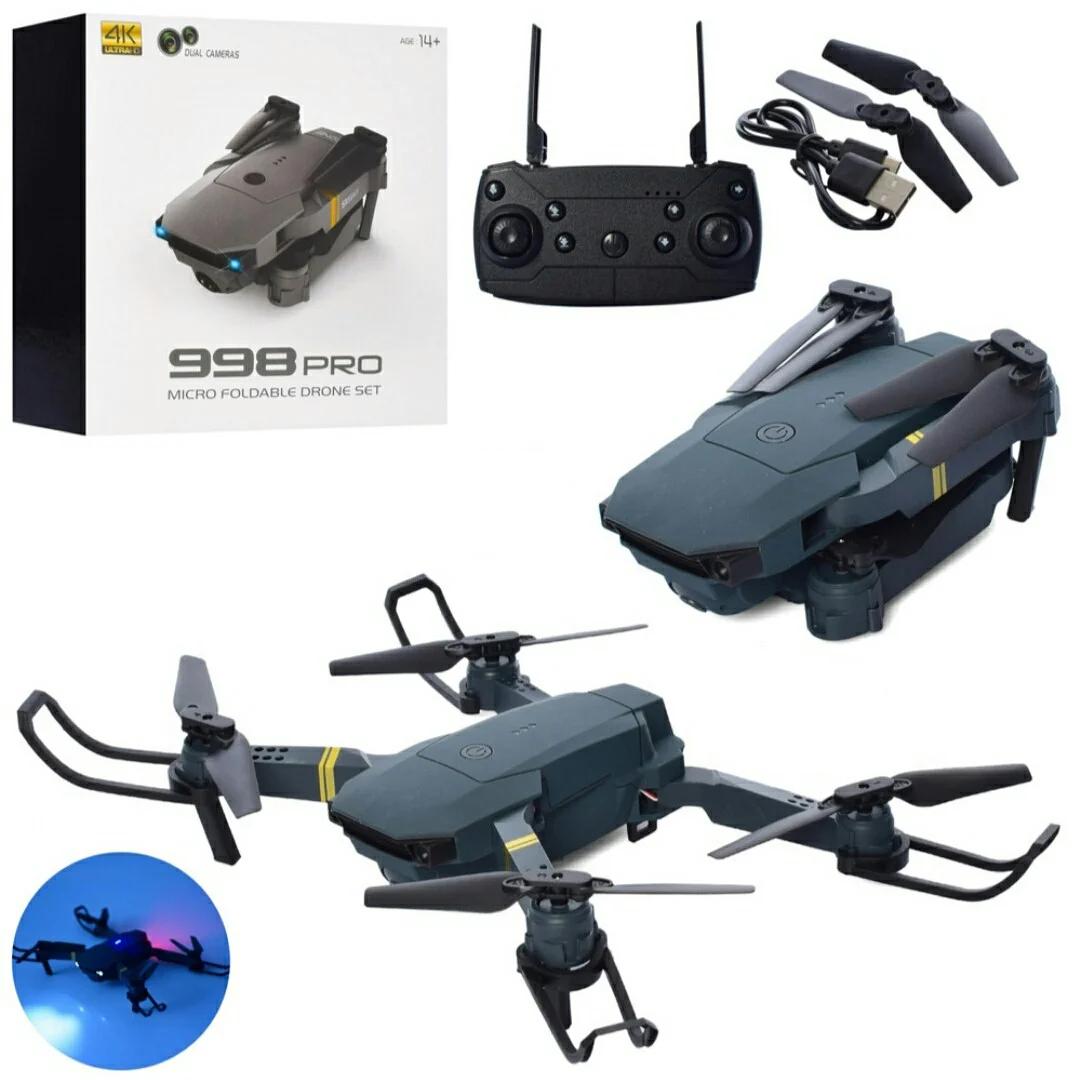 Квадрокоптер - дрон 998, HD камера з високою роздільною здатністю, в коробці