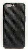 Чохол силіконовий карбон для OnePlus 5