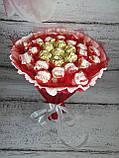 Букеты из конфет Милана подарочный поздравительный съедобный, фото 2