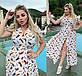 Летнее платье на запах Софт Перья в разных расцветках, фото 5