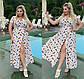 Летнее платье на запах Софт Перья в разных расцветках, фото 7