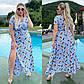 Летнее платье на запах Софт Перья в разных расцветках, фото 4