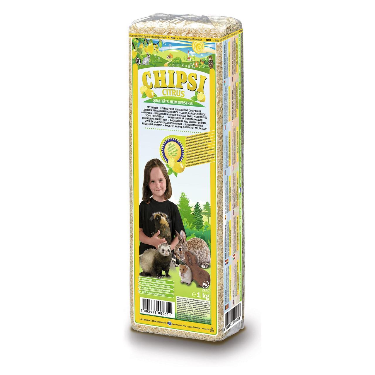 Гигиенический наполнитель для грызунов Rettenmaier Chipsi Citrus 15 л опилки