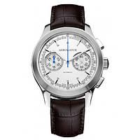 Летные оригинальные часы Aerowatch Aeroplan Chronograph 63907AA04, фото 1