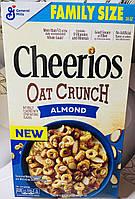 Сухий сніданок Cheerios овсянные колечка з мигдалем, фото 1