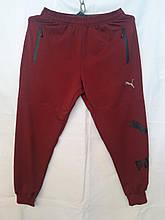 Спортивні штани чоловічі червоні PUMA молодіжні манжет розмір M_3XL купити оптом зі складу 7км Одеса