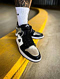 Мужские кроссовки Nike Air Jordan 1 Mid White Shadow, фото 3
