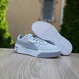Женские кроссовки Puma Cali серые, фото 5