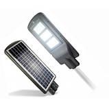 LED вуличний світильник на сонячній батареї VARGO 80W, фото 2