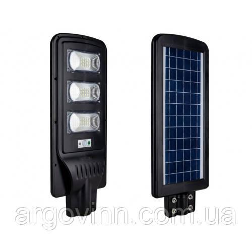LED вуличний світильник на сонячній батареї VARGO 120 W