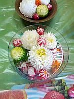 Хризантемы из пекинской капусты