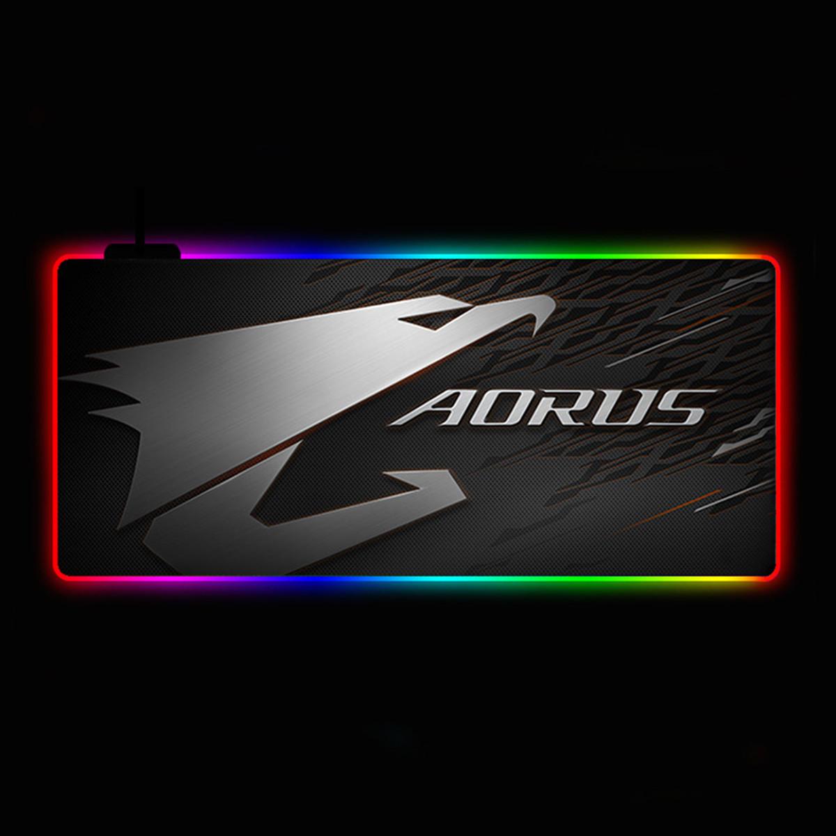 Геймерский коврик для мышки SKY (GMS-WT 9040/101) RGB подсветка 90x40 см