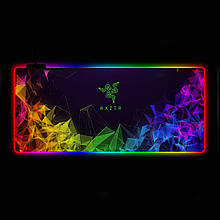Геймерський килимок для мишки SKY (GMS-WT 9040/103) RGB підсвічування 90x40 см