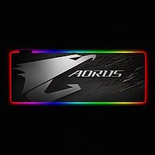 Геймерский коврик для мышки SKY (GMS-WT 8030/101) RGB подсветка 80x30 см
