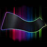 Геймерский коврик для мышки SKY (GMS-WT 8030/102) RGB подсветка 80x30 см, фото 2