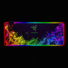 Геймерский коврик для мышки SKY (GMS-WT 8030/103) RGB подсветка 80x30 см