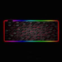 Геймерский коврик для мышки SKY (GMS-WT 8030/104) RGB подсветка 80x30 см