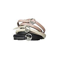 Шкіряний браслет-шнурок