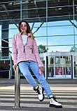 Куртка женская пудровая демисезонная код П308, фото 6