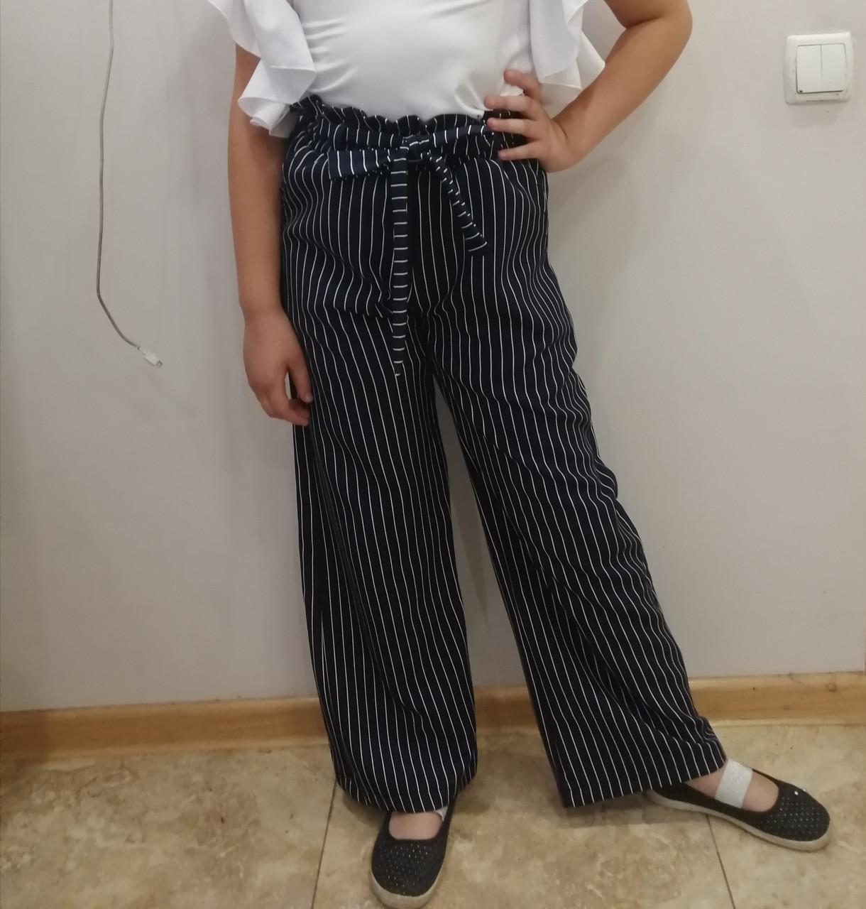Школьные брюки Слоучи Slouchy для девочки