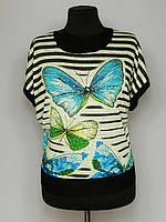Женская футболка бабочки, фото 1