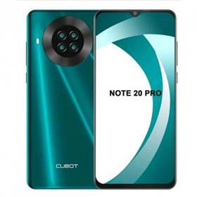 Смартфон Cubot Note 20 Pro Green 6/128GB NFC 4200 мА + чохол