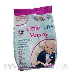 """Стиральный порошок детский """"Little Manny"""" 1,2 кг. (6шт. / Уп.)"""