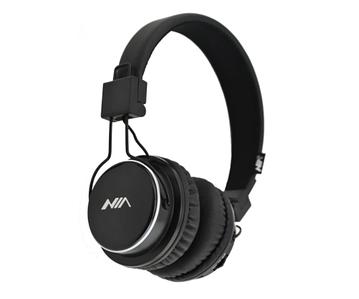 Бездротові Bluetooth стерео навушники НЯ Q8 з МР3 і FM чорні