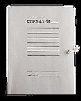 /Папка на завязках JOBMAX А4 картон 03 мм клееный клапан