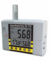 Стаціонарний СО2 монітор/термогігрометр-контролер AZ-7722