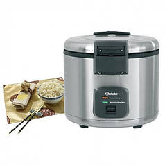 Рисоварка электрическая Bartscher A150513 прибор для пропаривания риса для суши 8 л в кафе ресторан