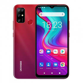 "Смартфон Doogee X96 Pro 4G Red екран 6,52"" And 11 4/64Гб 5400мАч НОВІ"