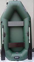 Лодка надувная двухместная для рыбалки ПВХ
