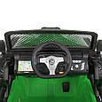 Детский электромобиль Джип 24V с пультом управления Детская машина джип на аккумуляторе Зеленый, фото 5