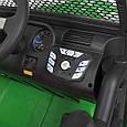Детский электромобиль Джип 24V с пультом управления Детская машина джип на аккумуляторе Зеленый, фото 6