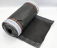 Коньковая вентиляционная лента ARSENAL D 240 мм, 5м (Черно-Серая), фото 1
