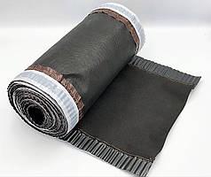 Конькова вентиляційна стрічка ARSENAL D 240 мм, 5м (Чорно-Сіра)
